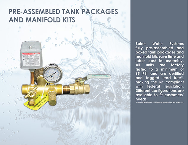 Pre-Assembled Tank Packages and Manifold Kits