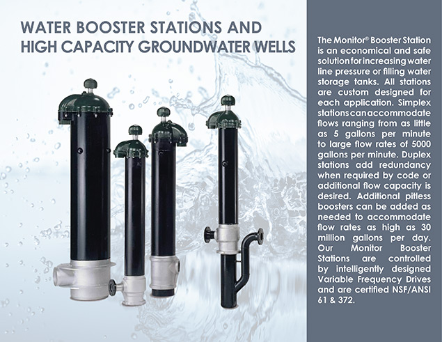 Water Booster Stations and High Capacity Groundwater Wells